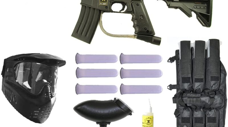 Tippmann Alpha Black Paintball